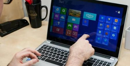 Touchscreen Laptops at Events
