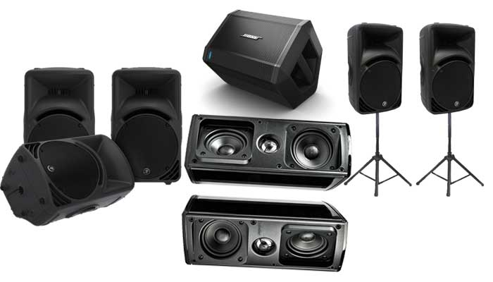 Speakers Rental